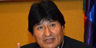 """Evo Morales : """"Periodistas chilenos casi me golpean al salir del Palacio"""""""
