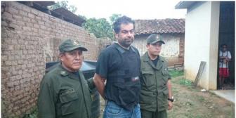 Gobierno reivindica trabajo de la Policía Boliviana, en la captura de Belaúnde