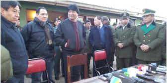 Evo afirma que Bolivia no es refugio de corruptos y pide no confundir al país con EEUU