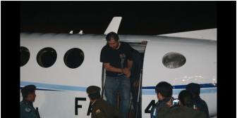 Caso Belaúnde: Policía utilizó sistema satelital y el avión de Evo en el operativo de captura, que se activó tras el seguimiento a su 'enlace'