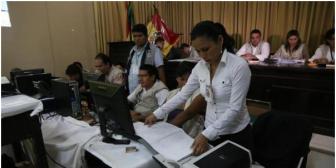Dellien de Nacer se adelanta casi 7 puntos sobre Ferrier del MAS al 45% del cómputo en Beni