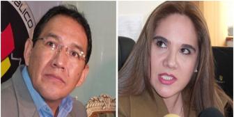 """Confrontación entre Fiscal General y Patricia Santos con intercambio de piropos: """"encubridor"""" y """"tramposa"""""""