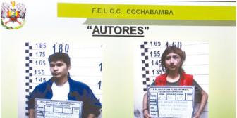 Cochabamba. El hermano es autor del asesinato de las dos jóvenes mujeres, todo por dinero
