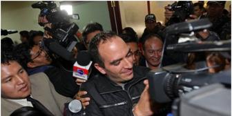Según informante expolicías recibieron $us 100 mil por facilitar fuga de Belaunde