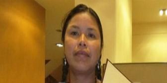 Tipnis: Fiscalía conmina a diputada Moye a demostrar robo