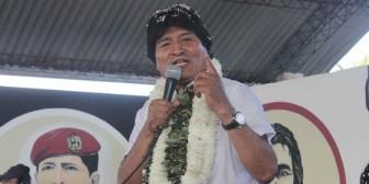 Super-Estado Cocalero ordena cambiar la Constitución