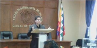 Oposición y oficialismo confrontados tras examen de postulante José Luis Exeni