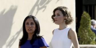 La polémica primera dama de Perú, cara a cara con Doña Letizia