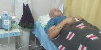 Excoronel Cardona volvió a Bolivia y está internado