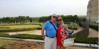 Azkargorta y Aracely de viaje por Europa