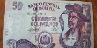 BCB presenta nuevo billete de 50 bolivianos