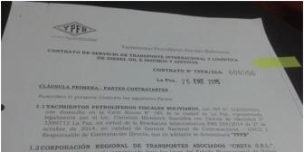 YPFB firmó contratos con empresario sindicado de narcotráfico; la estatal boliviana lo niega