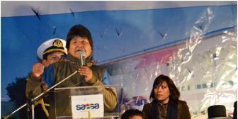Evo Morales denuncia que hay estudios de abogados especializados en liberar a narcotraficantes