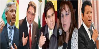"""Vinculan a Vice García y procurador Arce con """"rosca"""" del Tribunal Electoral"""