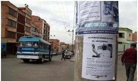 La Iglesia Adventista del 7° día niega haber pegado carteles que acusan a Francisco de ser el Anticristo