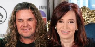 Fher, líder de Maná, fue expulsado de la Casa Rosada por cantarle 'la verdad' a Cristina Kirchner