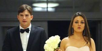 ¡Ashton Kutcher y Mila Kunis finalmente se casaron!