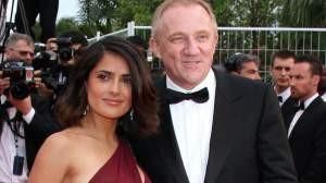 Salma Hayek dice que a ella y su marido 'nadie los va a separar
