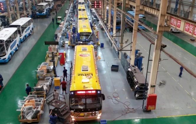80 nuevos buses Pumakatari saldrán el próximo lunes de China con destino a La Paz