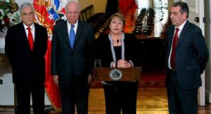"""Bachelet: """"Cualquiera sea el escenario no significa sesión territorial"""""""