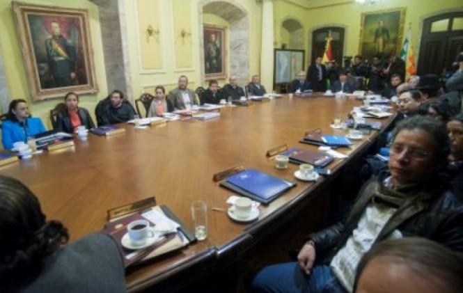 Evo y sus ministros lloraron al conocer el fallo de La Haya