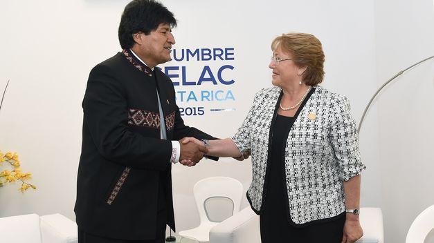 Foto 1 de Bachelet descarta un eventual encuentro con Evo Morales tras el reciente fallo de la CIJ