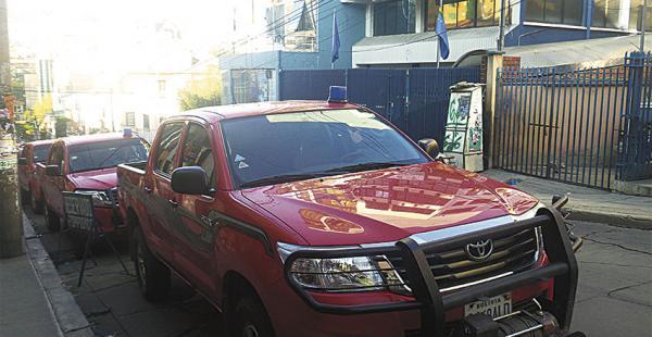 Las camionetas devueltas por organizaciones sociales, las utiliza el actual Fondo de Desarrollo Indígena