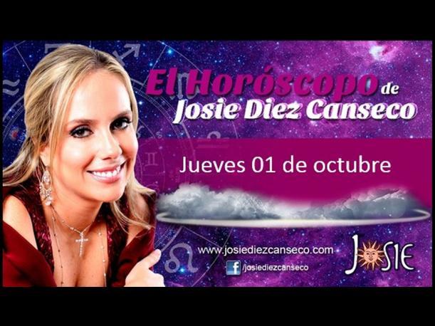 Josie Diez Canseco: Horóscopo del jueves 01 de octubre (FOTOS)