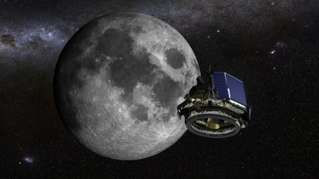 Moon Express Lunar Lander Moon Journey
