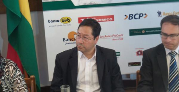El ministro Arce Catacora dijo que no debatirá con los empresarios a través de los medios de comunicación