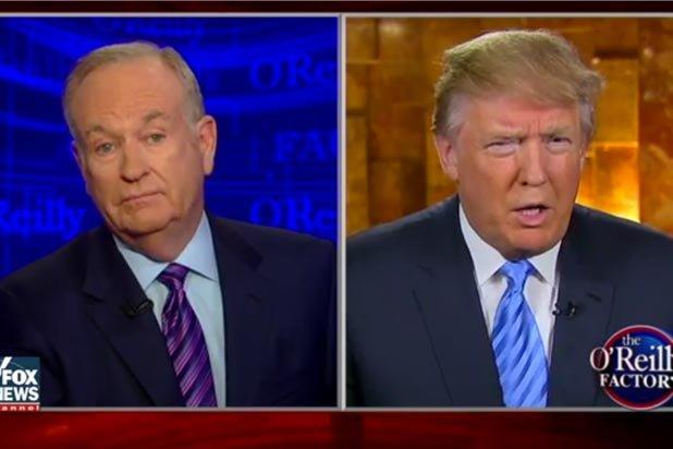 El comentarista de Bill O'Reilly clarificó varios equívocos de Trump en una entrevista con el magnate. (Fox News)