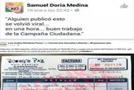 Samuel factura falsa