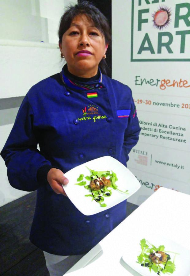 """""""La quinua es popular en EEUU gracias a la fusión de recetas"""""""