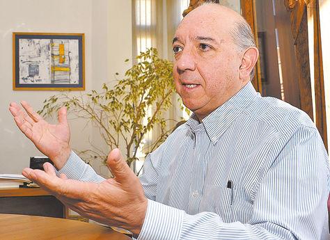 Entrevista. José A. Quiroga cuando habló con La Razón en 2015.