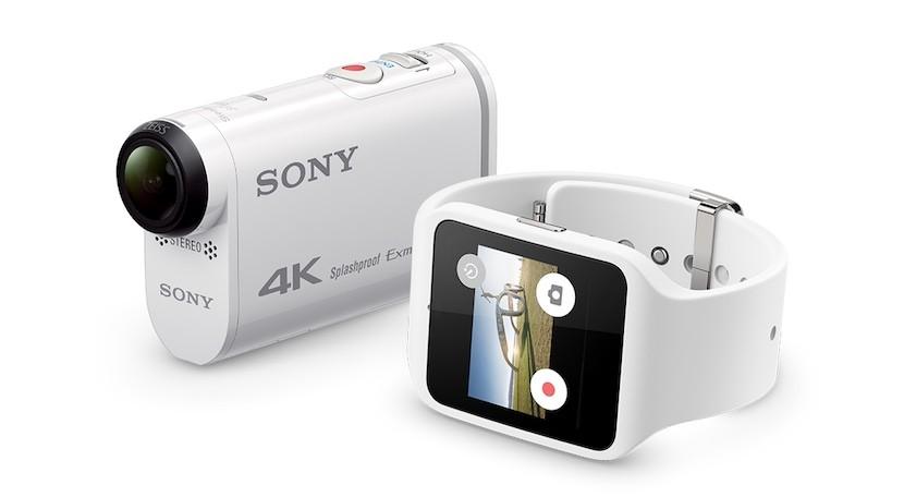 action cam sony smartwatch 3 830x456 Controla tu Action Cam desde tu Sony Smartwatch 3