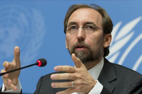 Zeid Ra'ad al-Hussein, alto comisionado de la ONU. Foto: yusnaby.com