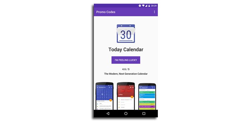 promo codes android Gana una app de pago al participar en el sorteo que celebra diariamente Promo Codes