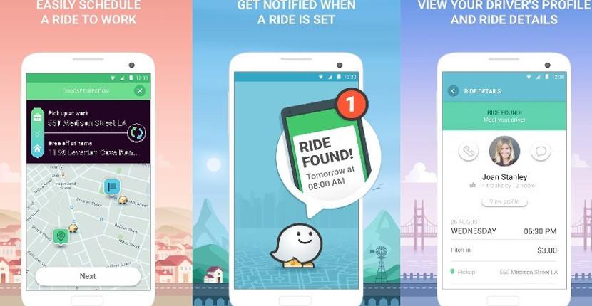 waze rider Waze Rider, la app de Google que competirá con Uber y BlaBlaCar