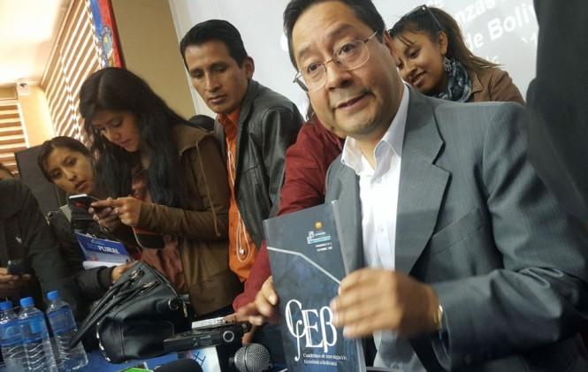 Envían terna de candidatos a Evo para la gerencia de la Gestora Pública