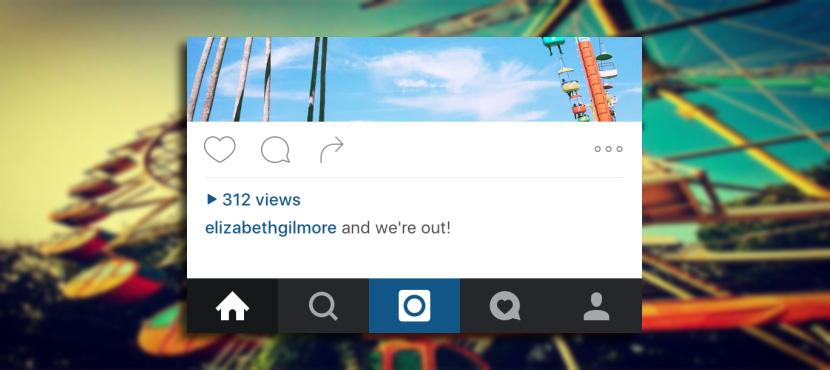 instagram contador reproducciones Instagram incluirá un contador de reproducciones en los vídeos