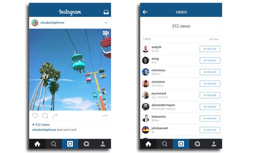 instagram contador visualizaciones Instagram incluirá un contador de reproducciones en los vídeos
