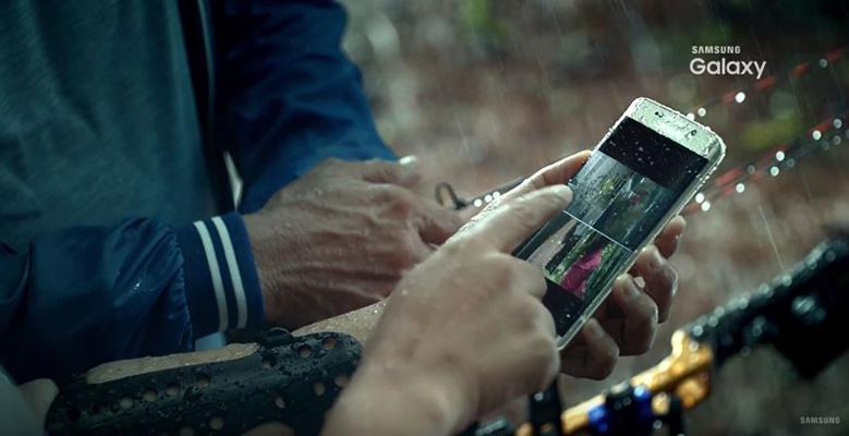 galaxy s7 resistencia agua Un vídeo teaser muestra la resistencia al agua y carga inalámbrica del Samsung Galaxy S7