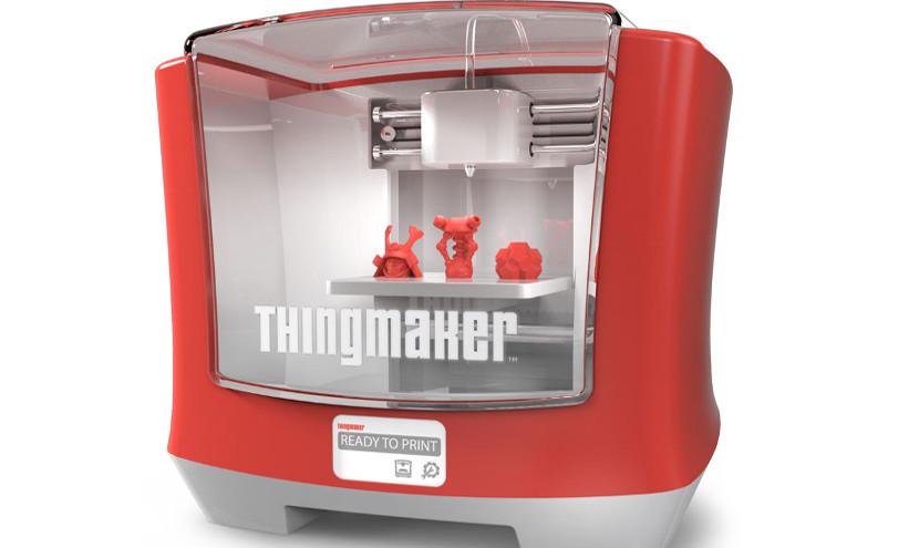 thingmaker 3d ThingMaker, la impresora 3D de Mattel