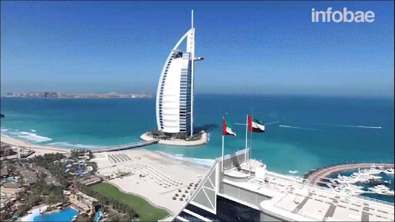 View From Above muestra una increíble vista de Dubai desde un drone