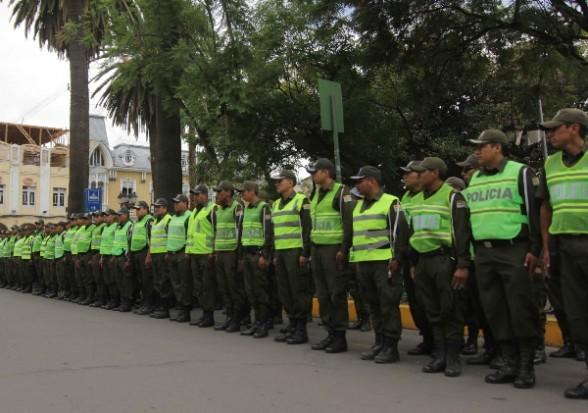 Efectivos policiales. | Foto ilustrativa -   Abi Agencia
