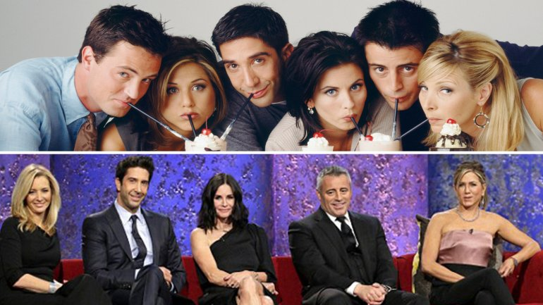 Los actores de Friends se volvieron a reunir en TV