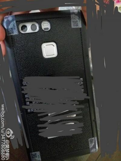 Huawei P9 doble camara foto filtrada 400x533 El Huawei P9 tendrá doble cámara con Flash LED