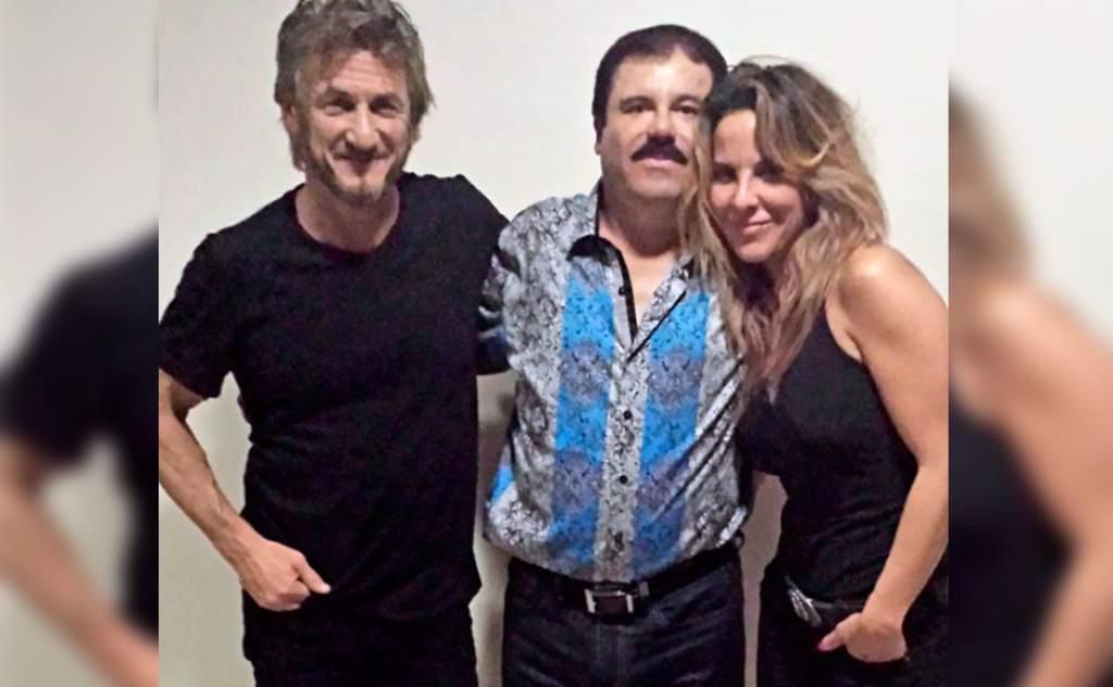 Kate del Castillo reveló su primera imagen junto a 'El Chapo' y Sean Penn.