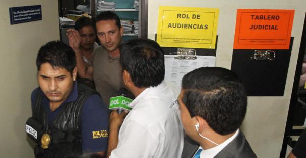 'Chichito' Padilla deberá pagar una fianza de 30.000 bolivianos y permanecerá arraigado