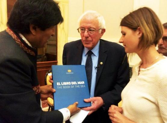 Foto Twitter Evo Morales